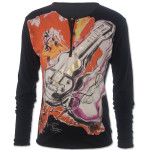 Black Guitar Button Jersey, Ronnie Wood for Liberty of London