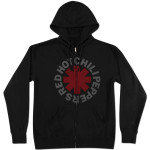 Red Hot Chili Peppers Asterisk Zip Hoodie