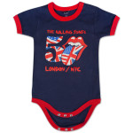Rolling Stones 50th Anniversary Union Jack Baby Romper