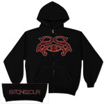 Stone Sour SS Blood Zip Hoodie