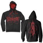 Slipknot Barbed Zip Up Hoodie