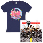 Indigo Shirt and Doll Domination Standard CD Bundle