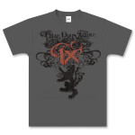 Three Days Grace Charcoal T-Shirt
