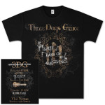 Three Days Grace Three Days of Giving Tour T-Shirt