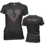 Three Days Grace Bleeding Junior T-Shirt