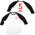 5SOS: Football T-Shirt
