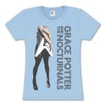 Grace Potter Flying V Girlie T-Shirt