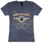 Grace Potter & The Nocturnals Grand Point North Festival Women's Burnout T-Shirt