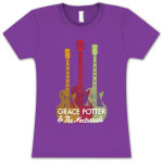 Grace Potter & The Nocturnals Ladies Guitar T-Shirt