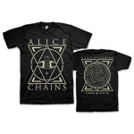 Alice In Chains Triple Triangle 2015 Tour T-Shirt