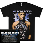 Alicia Keys Freedom Tour Black T-Shirt