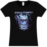 Avenged Sevenfold Nightmare Flourish Girlie T-Shirt