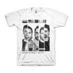 Backstreet Boys Photo Bars Adult T-Shirt