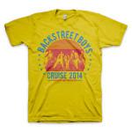 Backstreet Boys Showtime Gold T-Shirt