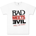 Bad Meets Evil Sketch Logo T-Shirt