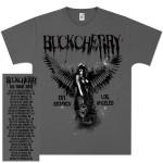 Buckcherry Angel Bitch Tour T-Shirt