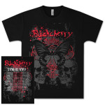 Buckcherry 2009 Butterfly Tour T-Shirt