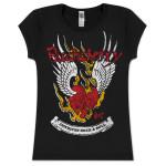 Buckcherry Womens Winged Heart T-Shirt