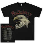 Buckcherry American Rock-N-Roll 2009 U.S. Tour T-Shirt