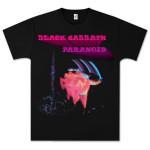 Black Sabbath Paranoid Motion Trails T-Shirt