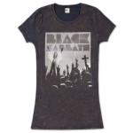 Black Sabbath Crosses Tunic with Mineral Wash