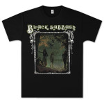 Black Sabbath Photo Framed T-Shirt - black