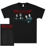 Bullet For My Valentine Band Photo 2013 Tour T-Shirt