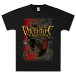 Bullet For My Valentine Color Block Skull T-Shirt