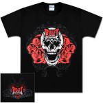 Bullet for My Valentine Skull Bloom T-Shirt