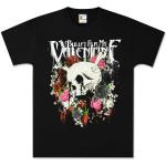 Bullet for My Valentine Skull N Roses Black Tee