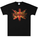 Bullet For My Valentine Corroded Flag T-Shirt
