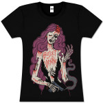 Bullet For My Valentine Zombie Girl Women's T-Shirt