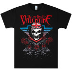 Bullet For My Valentine British Skull T-Shirt