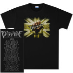 Bullet For My Valentine Backdrop 2011 Tour T-Shirt