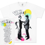 Cage The Elephant Back Stabbers Tourdate T-Shirt
