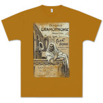 Capitol Records Chant Arabe T-Shirt on Mustard