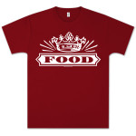 Capitol Records Food Logo T-Shirt on Red