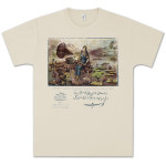 Capitol Records Gramophone Persian T-Shirt on Natural