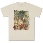 Capitol Records Gramophone Russian T-Shirt on Natural