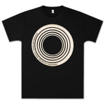 Capitol Records Radiate T-Shirt on Black