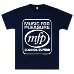 Capitol Records Music For Pleasure T-Shirt on Navy
