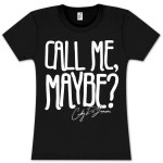 Carly Rae Jepsen Call Me Maybe Ladies T-Shirt