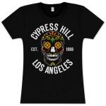 Cypress Hill Floral Skull Babydoll T-Shirt