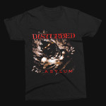 Disturbed Asylum Shred T-Shirt