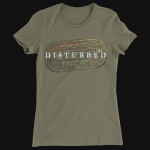 Disturbed Tagged Girlie T-Shirt