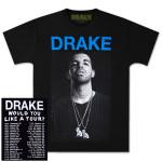 Drake Would You Like A Tour DB T-Shirt - black