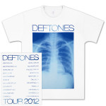 Deftones Leathers X-Ray Tour T-Shirt