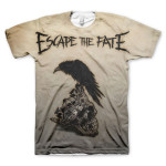 Escape the Fate Sublimated T-Shirt - white