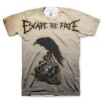 Escape the Fate Sublimated T-Shirt - white