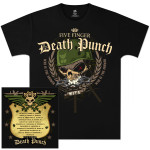 Five Finger Death Punch Warhead 2012 Tour T-Shirt